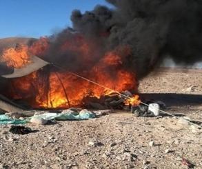 بالصور .. الجيش الثالث يقتل تكفيرى ويدمر 5 أوكار للإرهابيين بوسط سيناء