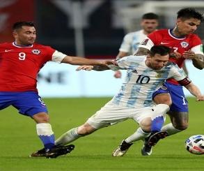 منتخب الأرجنتين يواجه تشيلى الليلة فى مستهل مشواره بـ كوبا أمريكا
