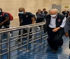 بعثة الأهلي تصل القاهرة بعد الفوز على الترجي في رادس
