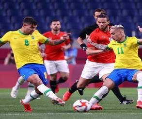 المنتخب الوطني يودع اولمبياد طوكيو بالخسارة أمام البرازيل