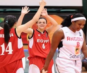 مصر تواجه السنغال فى بطولة أمم أفريقيا لسيدات السلة