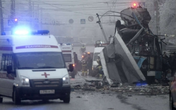 """""""سكاى نيوز"""": مصرع 3 روسيات في انفجار مجمع تجاري بسيبيريا"""