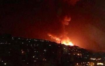 سوريا تعلن التصدى لعدوان جوى إسرائيلى على المنطقة الجنوبية