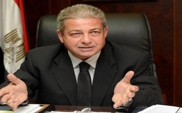 وزير الرياضة يبحث مع الجبلاية استعدادات لقاء مصر والكونغو