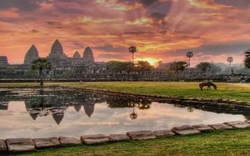 سيام ريب .. جوهرة كمبوديا البراقة .. سياحة وتاريخ !!