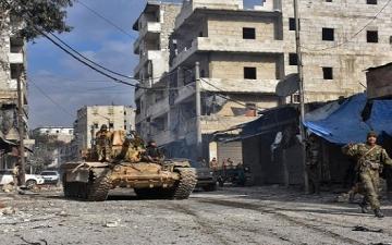 الجيش السورى يعلن تصفيه وزير حرب داعش شرق حلب