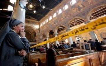 بالفيديو .. داعش ينشر تسجيلاً مصوراً لمفجر الكنيسة البطرسية