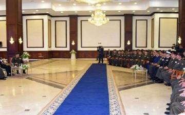 السيسى خلال لقاءه قادة وضباط القوات المسلحة يؤكد: مصر لا تنسى شهداءها