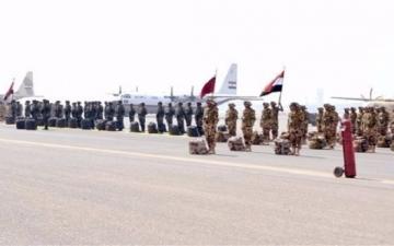 بالفيديو .. مصر تشارك فى فعاليات تدريبات «حمد – 2» و«زايد – 2»