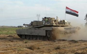 عملية عسكرية للجيش العراقى لملاحقة داعش بين ديالى وصلاح الدين