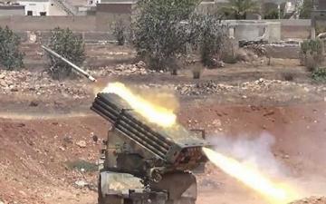 الدفاعات السورية تتصدى لغارة صاروخية جديدة فجر اليوم