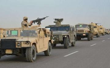 بالفيديو .. القوات المسلحة تعلن تصفية 7 ارهابيين وتدمير 158 بؤرة ارهابية