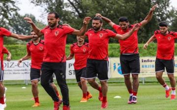 الأهلى يبدأ اليوم الاستعداد للوصل الإماراتى فى غياب الدوليين
