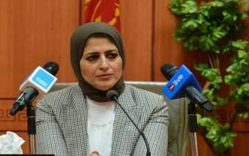 وزيرة الصحة : اطلاق المرحلة الثانية من حملة القضاء على الديدان المعوية فى 11 محافظة