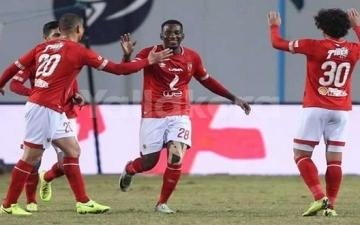 الأهلى يتدرب على ركلات الجزاء قبل مباراة شبيبة الساورة الجزائرى