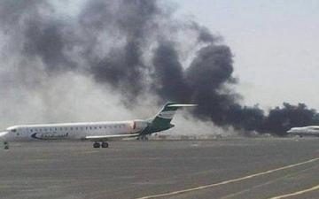 9 مصابين فى هجوم جديد للحوثيين على مطار أبها السعودى