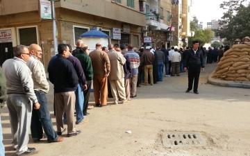 بعد ساعات : اقبال كبير على التصويت بمدينة الاسماعيلية