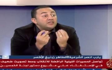 بالفيديو … اقبال المواطنين على الاستفتاء يصيب عمرو عبد الهادى بالجنون