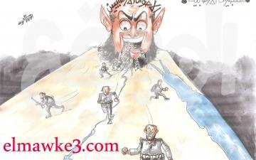تفجيرات الإرهابية .. كاريكاتير احمد القاعود