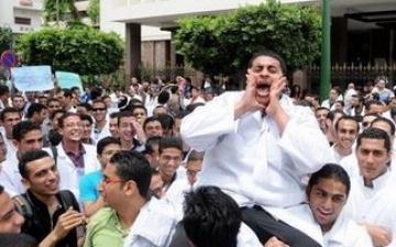 نقابة الأطباء : إضراب الأطباء  بالمستشفيات الحكومية وصلت 45% والصيادلة إلى 80 %