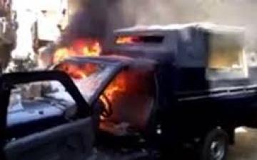 """الإخوان ترفع شعار """"يوم حرق سيارات الشرطة"""""""