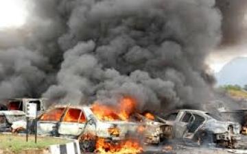 قتلى وجرحى في سلسلة انفجارات بسيارات مفخخة فى بغداد