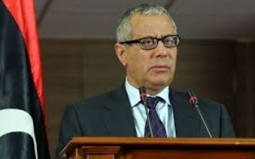 البرلمان اليبي يسحب الثقة من رئيس الوزارء علي زيدان 