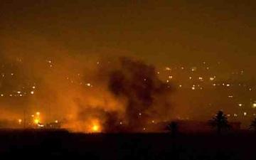 غارة جوية إسرائيلية تضرب شمال غزة