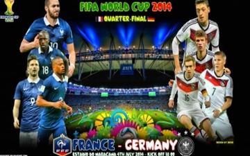 بث مباشر.. مباراة المانيا وفرنسا فى كأس العالم