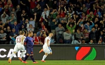 التشيك تهزم قازاخستان 4-2 في تصفيات بطولة أوروبا