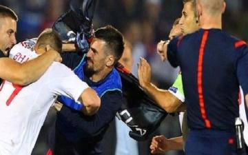 الاتحاد الأوروبي لكرة القدم: عقوبات تنتظر صربيا وألبانيا