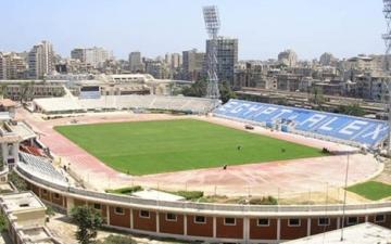 تعزيزات أمنية بإستاد الإسكندرية  قبل مباراة الزمالك والرجاء