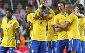 فوز منتخب البرازيل باربعة اهداف نظيفه على نظيره التركى