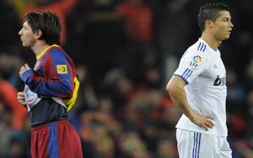 كريستيانو رونالدو وميسي يفشلان في جذب المشجعين لهما