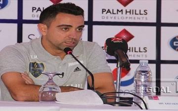 """""""تشافى"""" يتحدث عن محمد صلاح وجاريدو خلال مؤتمر صحفى بالقاهرة"""