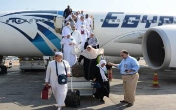 بدء عودة رحلات حجاج بيت الله الحرام بعد أدائهم مناسك الحج