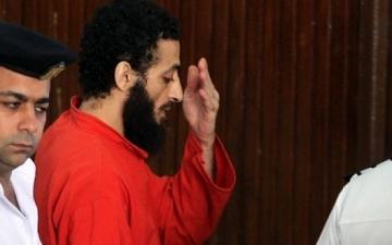 إعدام الإرهابى عادل حبارة وتسليم جثته لمشرحة زينهم