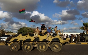 الجيش الليبى يتوعد بمهاجمة الطائرات والسفن التركية إذا حاولت الهبوط والرسو فى طرابلس