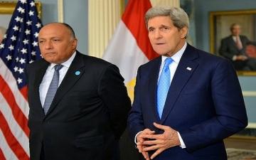 شكرى يبدأ نشاطاته فى واشنطن وتوقيع اتفاقية للحد من تهريب الآثار المصرية