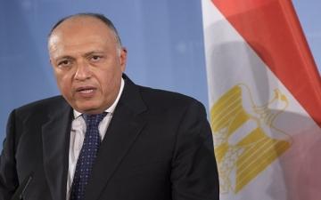 شكرى : نتوقع اتفاقاً نهائياً عادلاً حول سد النهضة يراعى مصالح مصر