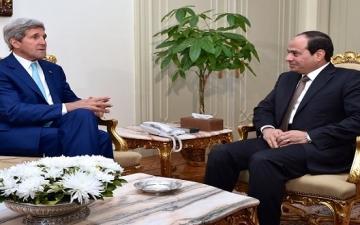 كيرى : حكومة مصر تضع اقتصاد البلاد على طريق التعافى