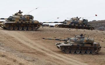 انتشار عسكرى تركى فى منطقة جبل الزاوية شمال إدلب