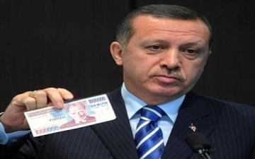 هبوط عنيف لليرة التركية أمام الدولار الأمريكى