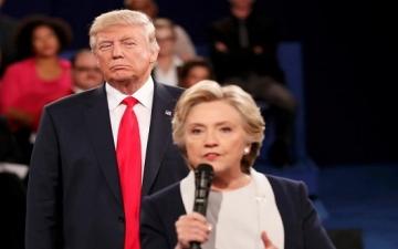 أحدث استطلاع رأى يشير لتقدم هيلارى وتدهور شعبية ترامب