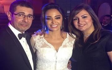 بالصور .. زفاف داليا البحيرى على أحد رجال الأعمال