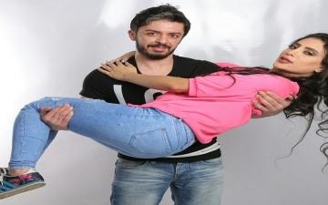 بالصور.. أحدث عروسين بالوسط الفنى وفاء قمر وهيثم محمد