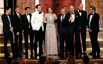 القائمة الكاملة لجوائز الجولدن جلوب ..La La Land يكتسح !!