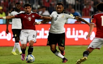 نقل مباراة غانا ومصر من كوماسى إلى كيب كوست