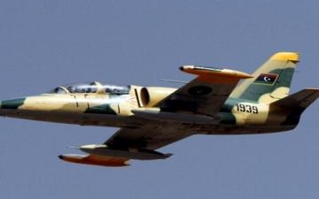 غارات عنيفة من الجيش الليبى على مواقع الميليشيات وسط مدينة غريان