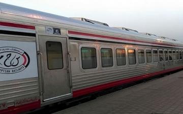 السكك الحديدية تدفع بقطارات جديدة بسبب زيادة أعداد الركاب